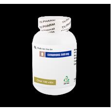 Cefadroxil 500mg (chai 100 viên)