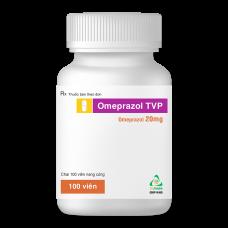 Omeprazol TVP (Chai 100 viên, Hộp 3 vỉ x 10 viên nang)