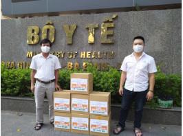 Tập đoàn AIKYA và Công ty TV.PHARM hỗ trợ khẩu trang y tế cao cấp cho đội ngũ y bác sĩ tuyến đầu