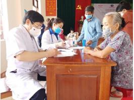 Tập đoàn AIKYA, Trung tâm Phát triển Sức khỏe Bền vững (VietHealth), BVĐK Trung ương Quảng Nam: Khám